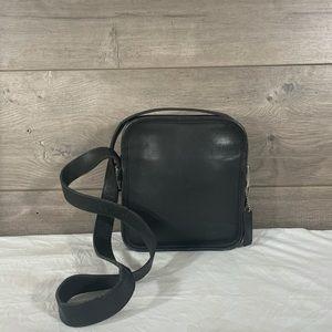 Coach Camera 9817 Black Leather Shoulder Bag